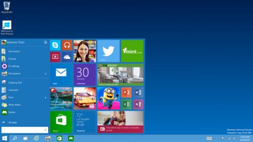 Como se siente Windows 10